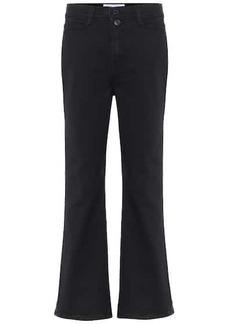 Proenza Schouler High-rise kick-flare jeans