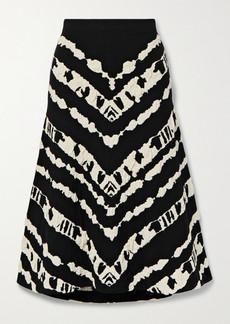 Proenza Schouler Jacquard-knit Midi Skirt