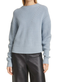 Proenza Schouler White Label Back Slit Wool Sweater