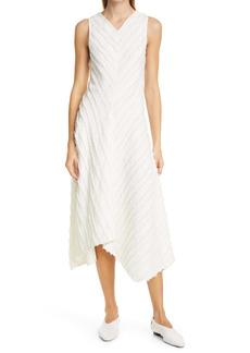 Proenza Schouler White Label Fil Coupé Fringe A-Line Dress