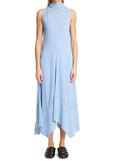 Proenza Schouler Handkerchief Hem Silk Georgette Dress
