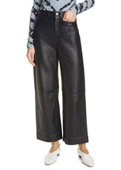 Proenza Schouler White Label Leather Culotte Pants