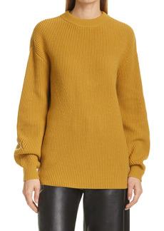 Proenza Schouler Open Back Merino Wool Sweater