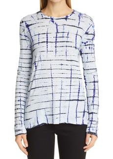 Proenza Schouler Tie Dye Tissue Jersey T-Shirt