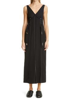 Proenza Schouler V-Neck Sleeveless Sheath Dress
