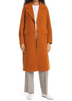 Proenza Schouler White Label Double Face Wool & Cashmere Blend Coat