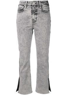 Proenza Schouler PSWL colour-block cropped jeans