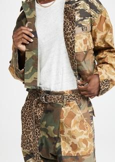 R13 Abu Cropped Jacket