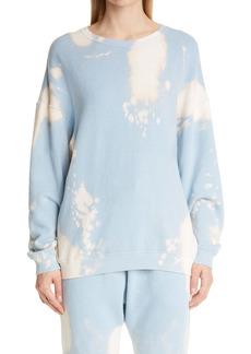 R13 Bleached Oversize Sweatshirt (Nordstrom Exclusive)