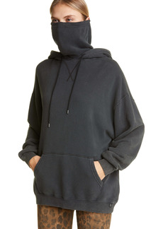 R13 MaskUp Face Mask French Terry Hoodie