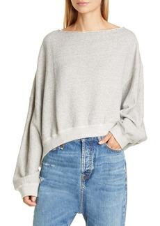 R13 Patti Wide Neck Sweatshirt