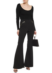 Rachel Zoe Woman Twill Flared Pants Black
