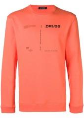 Raf Simons Drugs Cover sweatshirt