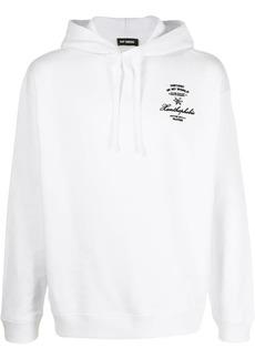 Raf Simons embroidered Xanthophobic hoodie