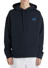 Raf Simons Illusion Logo Sweatshirt Hoodie