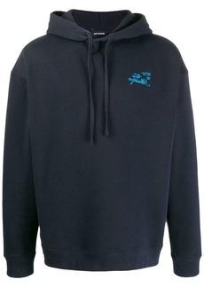Raf Simons logo hoodie