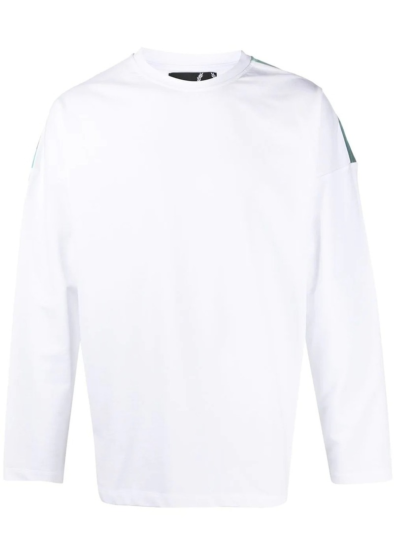 Raf Simons logo long-sleeve sweatshirt