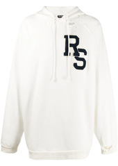 Raf Simons logo patch hoodie
