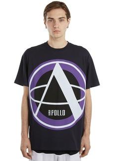 Raf Simons Oversize Printed Cotton Jersey T-shirt