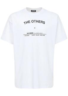 Raf Simons Printed Jersey Cotton T-shirt