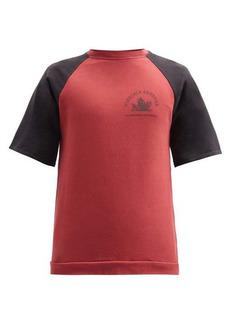 Raf Simons AW02 Virginia Creeper cotton-jersey sweatshirt