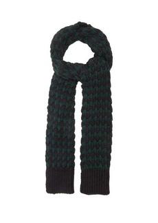 Raf Simons Jacquard-knitted alpaca-blend scarf