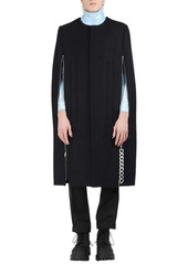 Raf Simons Navy Punk Cape