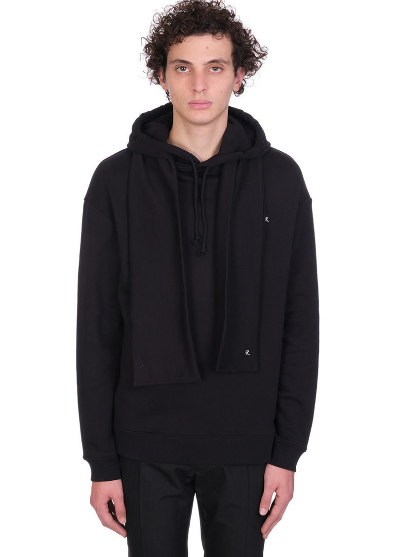 Raf Simons Sweatshirt In Black Cotton