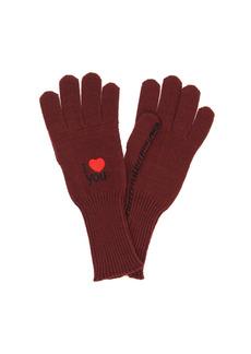 Raf Simons Wool Gloves I Love You