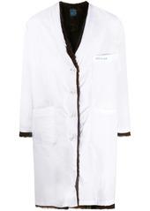 Raf Simons reversible faux fur coat