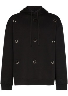 Raf Simons ring-embellished hoodie