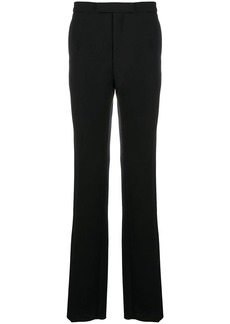 Raf Simons side bands tailored trousers