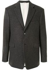 Raf Simons single-breasted wool jacket