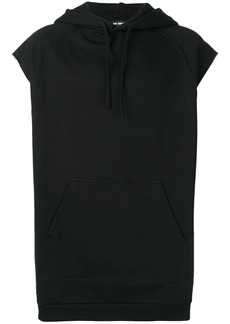 Raf Simons sleeveless drawstring hoodie
