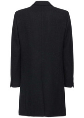 Raf Simons Slim Fit Double Breast Wool Coat