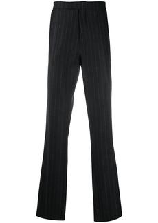 Raf Simons slim-fit pinstripe trousers