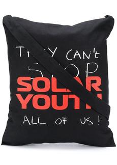Raf Simons Solar Youth tote bag