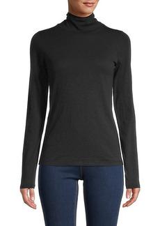 rag & bone Funnel-Neck Cotton Pullover