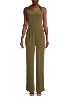 rag & bone Pleated Silk Jumpsuit
