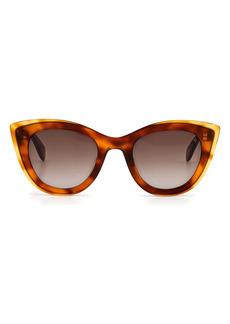 rag & bone 49mm Cateye Sunglasses