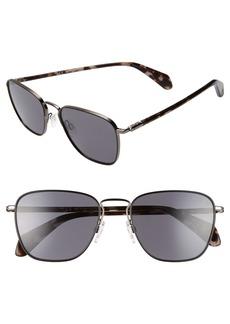 rag & bone 54mm Polarized Aviator Sunglasses