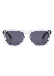 rag & bone 56mm Rectangular Sunglasses