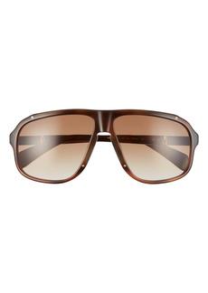 rag & bone 61mm Flat Top Sunglasses