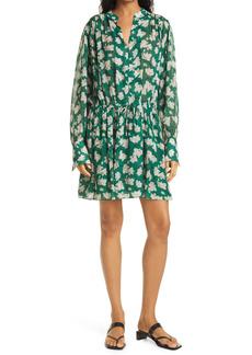 rag & bone Carly Floral Print Long Sleeve Dress