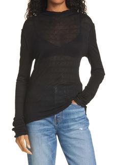 rag & bone Diamond Jacquard Turtleneck Sweater