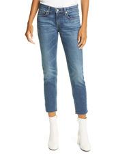 rag & bone Dre Slim Fit Ankle Boyfriend Jeans (Mariposa)