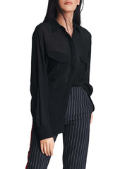 rag & bone Florian Sheer Tunic Shirt