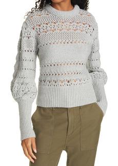 rag & bone Jane Open Stitch Sweater