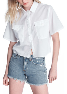 rag & bone Joon Boxy Button-Front Shirt