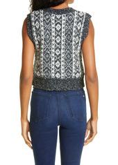 rag & bone Maisie Alpaca & Cotton Blend Sweater Vest